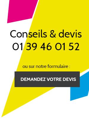 Conseils & devis 01 39 46 01 52